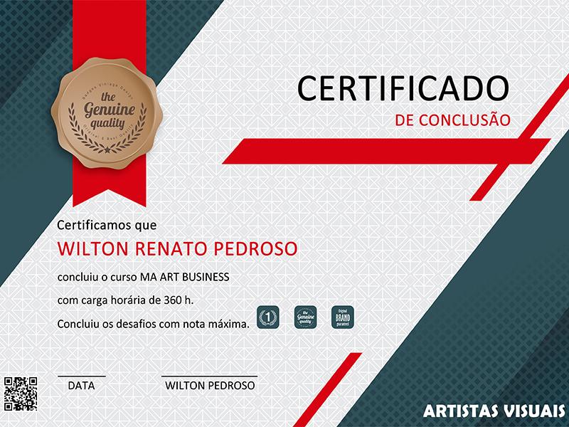 Certificação MA Art Business