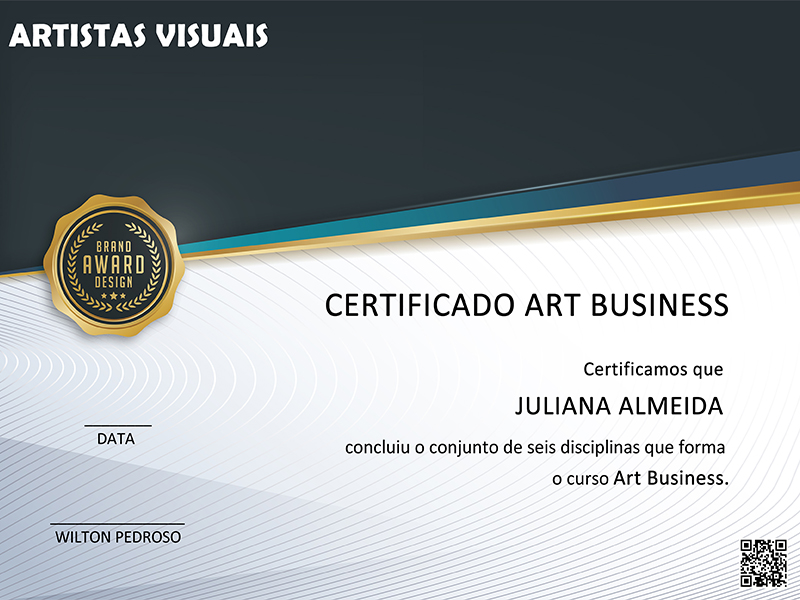 Cerificado Art Business